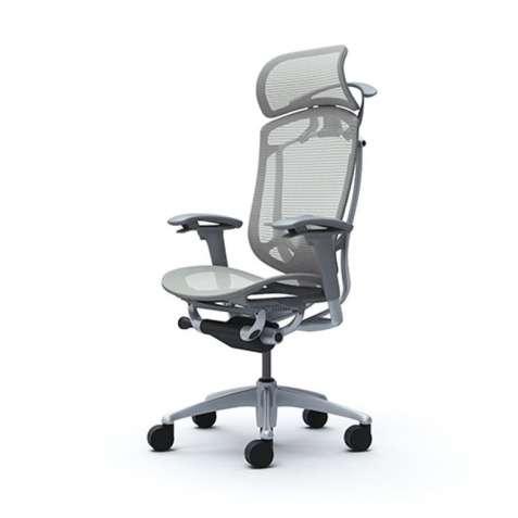 Кресла руководителя Okamura CONTESSA II Sekonda Light grey, серый карк - зображення 3