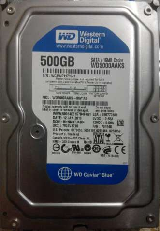 WDC WD5000AAKS-00V1A0