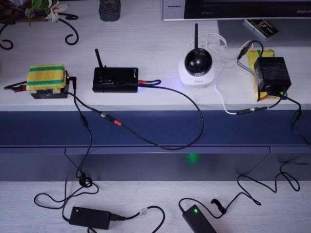 FTP Профессиональная Система видеонаблюдения Wi-fi IP-камера,автономия