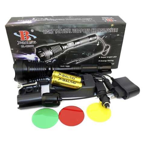 Подствольный фонарик Bailong Police BL-Q2800-T6