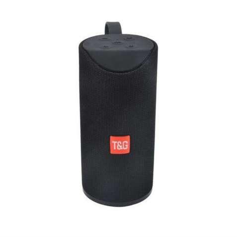 Портативная колонка T&G TG-113 - черная