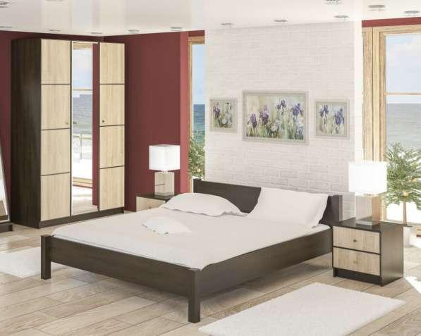 Спальня Фантазия. Кровать, шкаф, прикроватные тумбы
