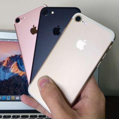 iPhone 7 Gold Black Rose Gold (Айфон 7 Золотий Чорний Розовий)