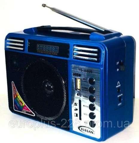 Новинка Радиоприемник YUEGAN YG-306UD