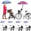 Держатель - кронштейн для зонта на коляску, велосипед