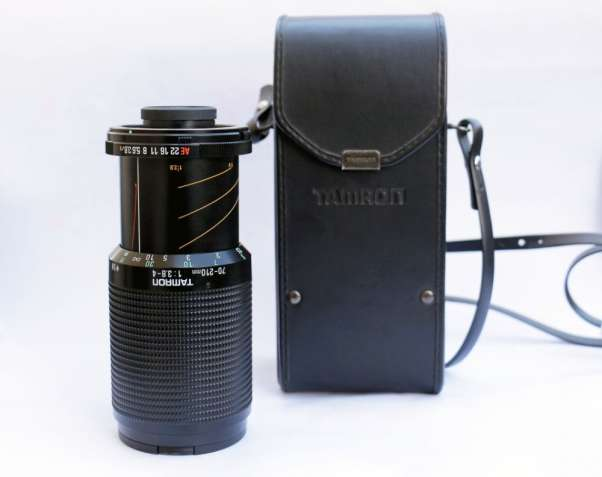 Tamron adaptall 2 70- 210/3.8- 4 for Nikon