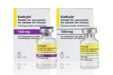 Кадсила (трастузумаб) 100 и 160 мг Kadcyla