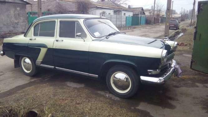 Автомобиль ГАЗ 21 1963 г.в.