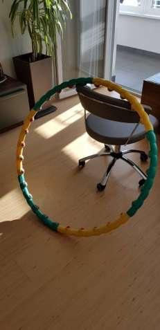 Массажный обруч Hula Hoop для похудения и коррекции фигуры