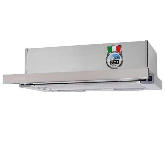 АКЦИЯ Вытяжка телескопическая Ventolux GARDA 60 650 X витяжка кухонна