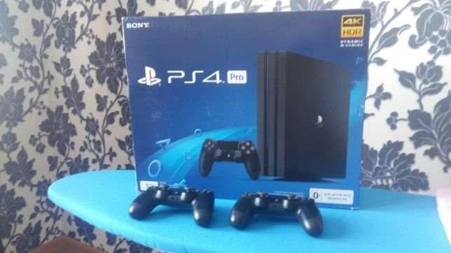 Продам Sony PlayStation 4pro + Dualsho 4