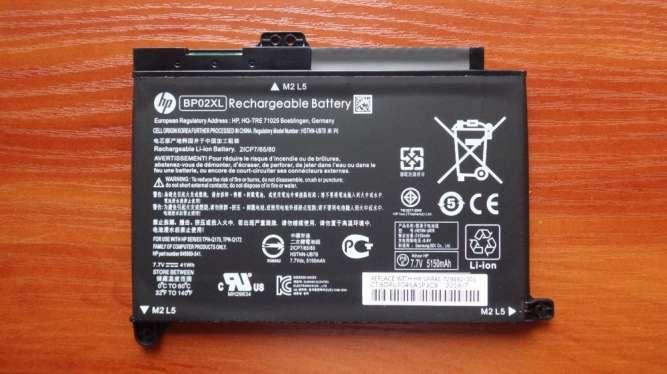 Оригинальная аккумуляторная батарея HP BP02XL Pavilion 15-AU 41Wh