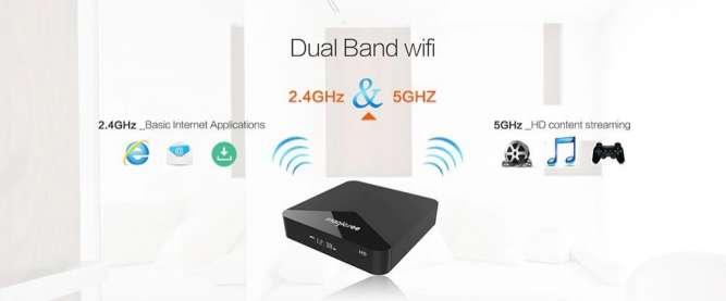 Android Приставка Amlogic S905X 2/16, Bluetooth 4,1,Magicsee N5 TV Box