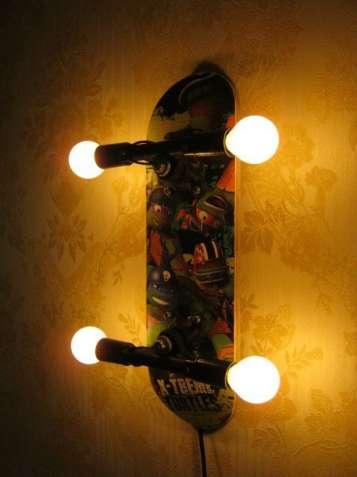 Cветильник, ночник, бра Скейт