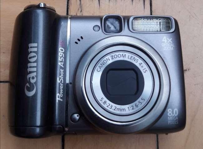 Продаётся цифровой фотоаппарат Canon PowerShot A590 IS