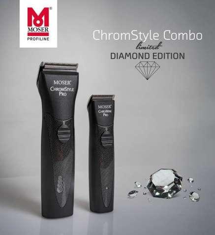 Набор MOSER CHROMSTYLE COMBO CARBON DIAMOND (машинка и триммер)
