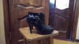 38рНовые!Удобные демисезонные сапоги ботильоны туфли ботинки балетки