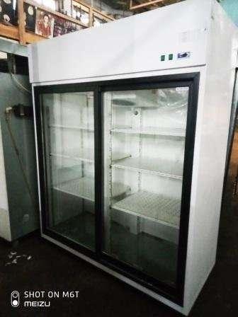 Холодильник для напитков со стеклянными дверьми  Igloo OLA 1400.2 S/B