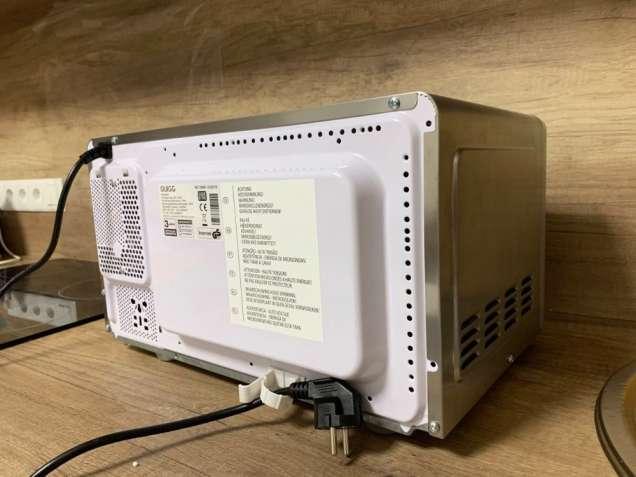 Новая микроволновая печь из нержавеющей стали Quigg MD 18666 (Германия - изображение 3