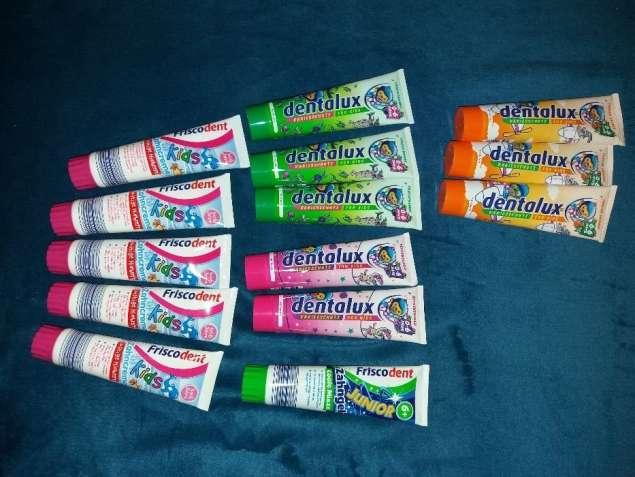 Детска зубная паста Dentalux