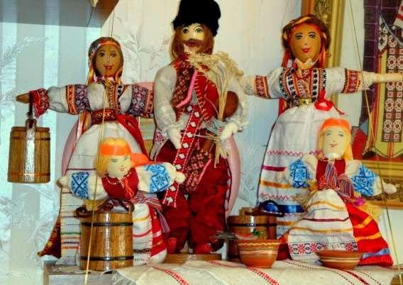 Народная кукла украинская подарок из украины сувениры хендмейд чайница