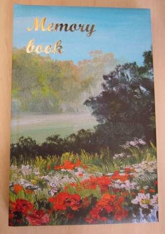 Очень красивые блокноты с цветными вставками