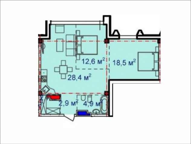 Предлагается к продаже светлая, уютная 2-х комнатная квартира