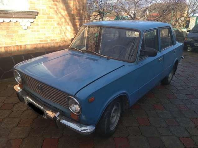 ВАЗ-2101 Синий, машина на ходу