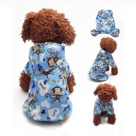 Комбенизон-дождевик.Одежда для собак и котов