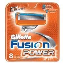 Сменные касеты для станка Gillette Fusion, Fusion Power, Джилет