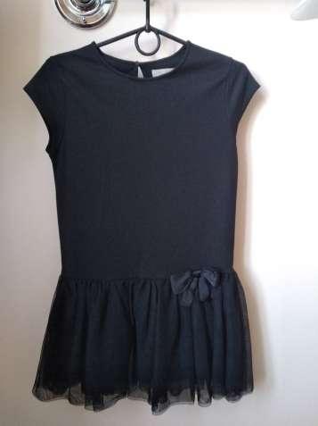 Платье Zara Girls черное б/у