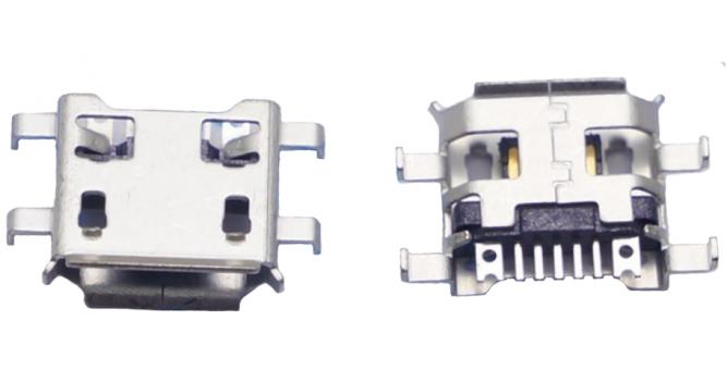 Гнездо micro USB для телефонов и планшетов тип 2