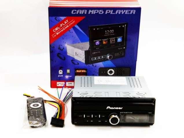 "1din Магнитола Pioneer GBT-7100S 7"" Экран, USB, Bluetooth, РУЧНОЙ"