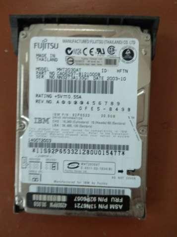 Продам диск Fujitsu model MHT2030AT
