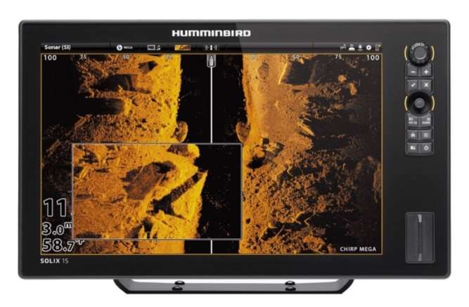 Эхолот Humminbird Solix 15 MEGA SI + GPS