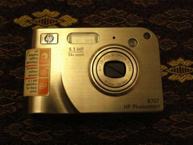 Фотоапарат НР-R707 на запчасти