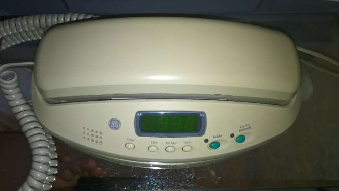 """Телефон General Electric """"Bedroom Phone""""специализированный для спальни"""