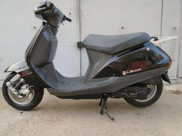 Новые скутера.