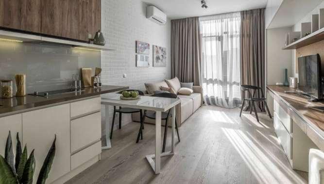 Предлагается однокомнатная квартира в новом малоэтажном доме в Центре!