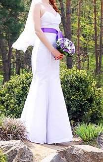 Свадебное платье + фата