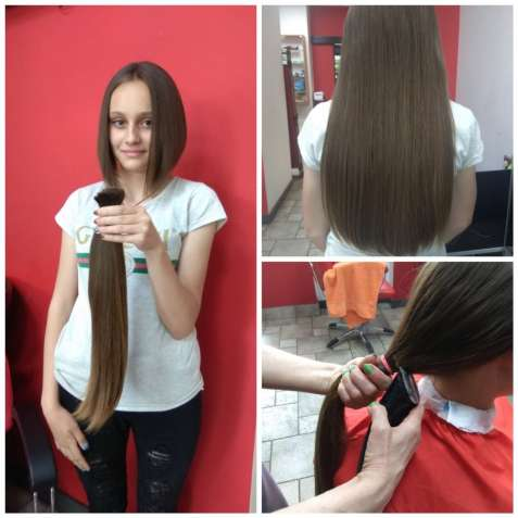 Мы подарим вам современную стрижку и купим ваши волосы
