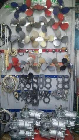 комплектующие к лодочным моторам, продажа и ремонт моторов
