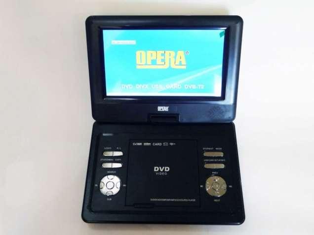 """11"""" DVD Opera NS-1180 Портативный DVD-проигрыватель с Т2 TV"""