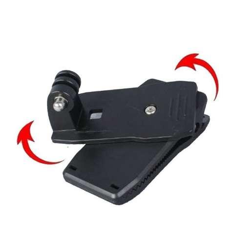 Клипса на рюкзак для камер GoPro и аналогов (крепления для камеры)