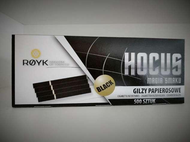 Сигаретные гильзы Hocus Black - 500