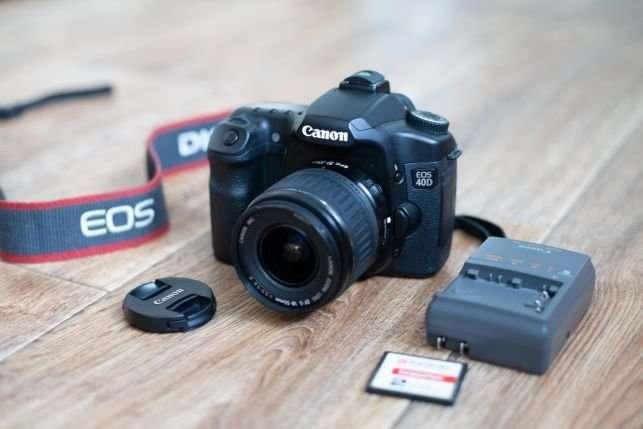 Canon EOS 40D + Объектив canon18-55mm.+ сумка!!!