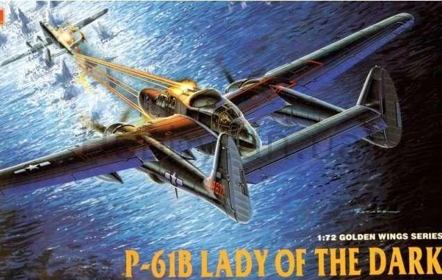 "Сборная модель Northrop P-61B Black Widow ""Lady of the Dark"" 1:72"