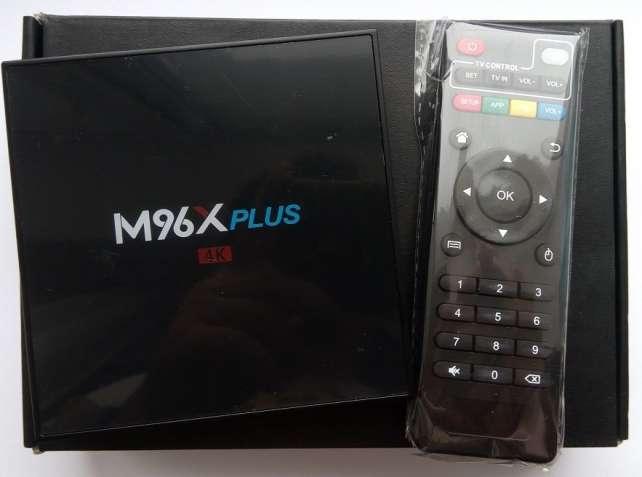 Tv Box M96X Plus (S912, 2/16 GB, bluetooth, Android 7, SPDIF, WiFi 5G)