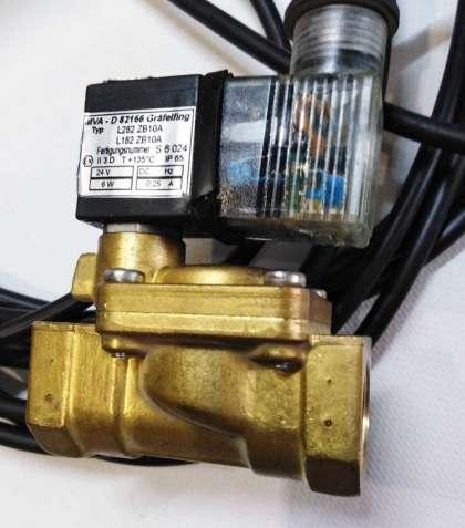 Электромагнитный клапан L182B01, двухходовой, управляемый (Sirai)1/2