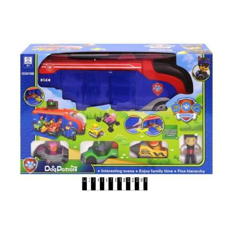 Детский игровой набор  Автовоз гараж Щенячий Патруль GG019